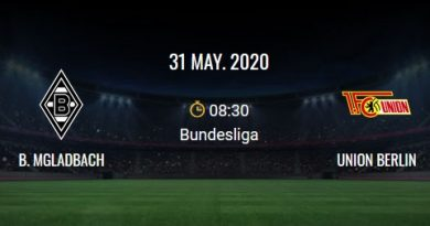 M'gladbach – Unión Berlín-match
