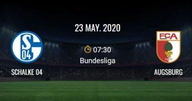 Schalke - Augsburg-match