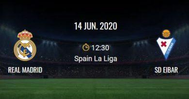 Real Madrid - SD Eibar-match